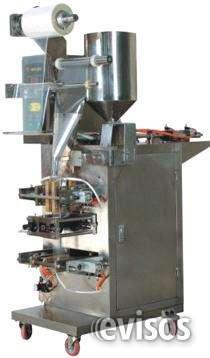 Embolsadora de liquidos viscosos con codificador integrado y fotocelda