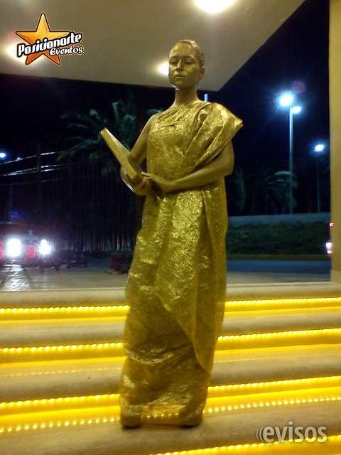Estatuas vivientes: eventos y fiestas en ciudad de méxico