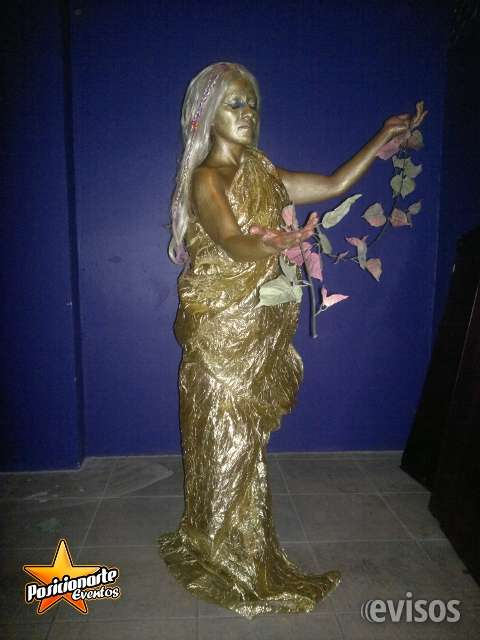 Estatuas vivientes, show para eventos en ciudad de méxico