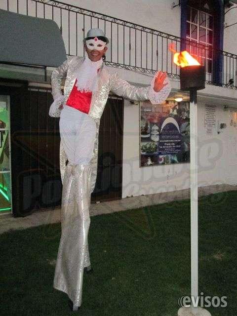 Zanqueros, zancos show para eventos en ciudad de méxico