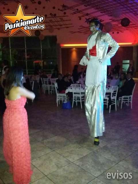 Zanqueros, zancos show: xv años, eventos y fiestas el mejor ambiente para tus xv años, a