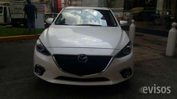 Mazda touring 3 con quemacocos blanco 2014
