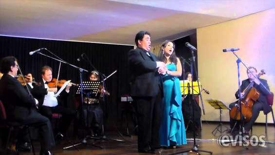 Cantantes de ópera conciertos y eventos de gala