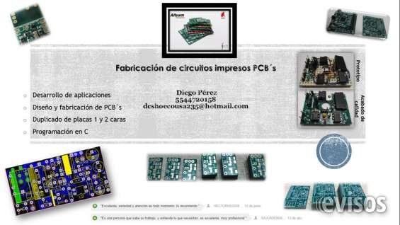 Fabricación de circuitos pcb´s