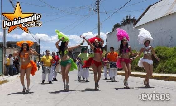 Desfiles o ferias en ciudad de méxico: show de batucada