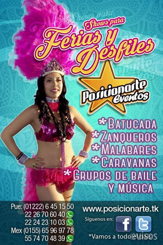 Desfiles o ferias: shows y espectáculos en ciudad de méxico