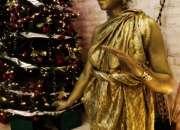Estatuas vivientes para eventos en Ciudad de México: Navidad y fin de año