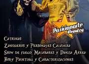 Shows y animación para eventos de Halloween y Día de Muertos en Ciudad de México.