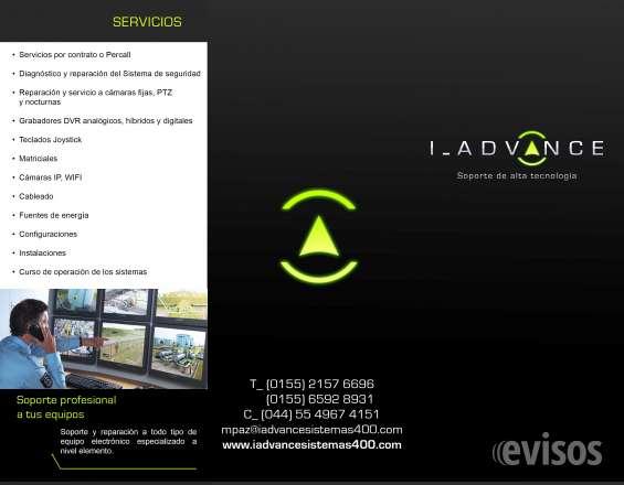 Reparacion cámaras pelco, video vigilancia, cctv