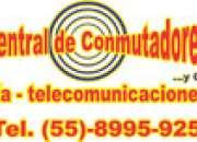Tel. 8995-9251: PROGRAMACION URGENTE CONMUTADOR TELEFONICO PANASONIC TDA100
