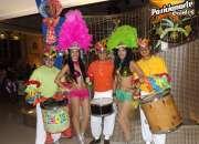Show de Batucada en Tlaxcala para eventos de Navidad