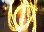 Show de fuego para Carnaval y Desfiles.