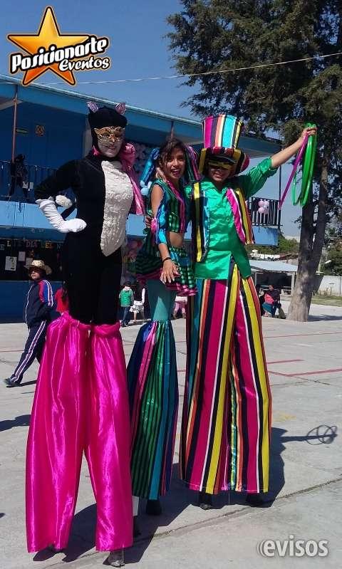 Zanqueros para carnaval y desfiles.