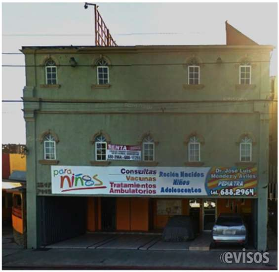 Edificio en venta para clinica zona centro en tijuana