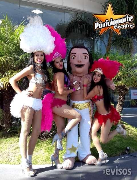 Bailarinas: eventos carnaval y desfiles