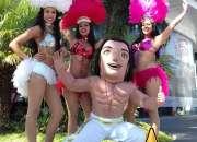 Show de Bailarinas: Carnaval, desfiles, eventos.