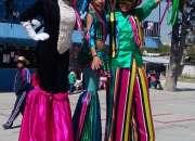 Show de Zanqueros: Carnaval, eventos, desfiles.