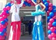 Carnaval y Desfiles: Show de Zanqueros, Zancos.
