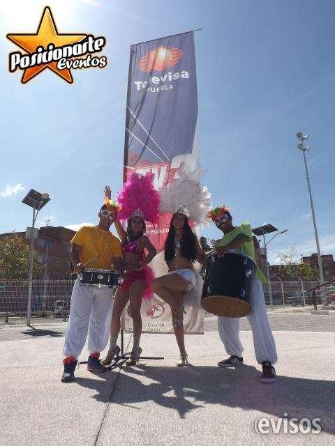 Batucada para carnaval y desfiles en ciudad de méxico.
