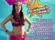 Shows para Carnaval en Ciudad de México: Batucada, zanqueros, bailarinas, comparsas.