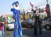 Zanqueros para Carnaval y Desfiles en Ciudad de México.