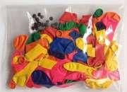 Trabaja en casa empacando globos