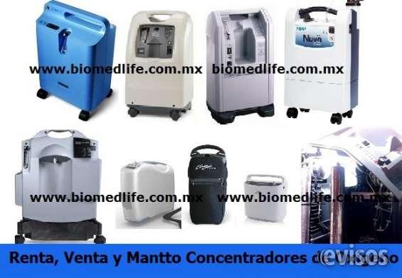 Cocnentrador de oxigeno mantenimiento
