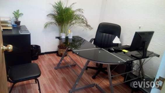 Oficinas amuebladas con servicio de internet