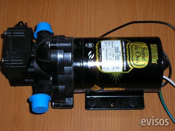 Bombas de presión shurflo