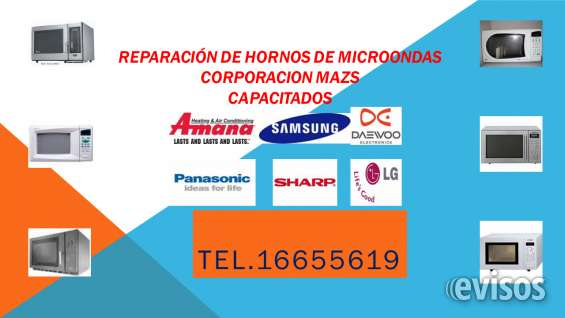 Reparacion tecnica de hornos de microondas industriales,amana,menumaster,lg,daewoo,samsung