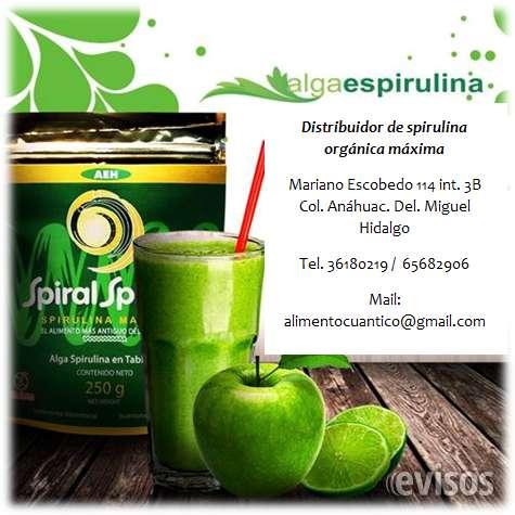 Espirulina alimento 100 %natural.