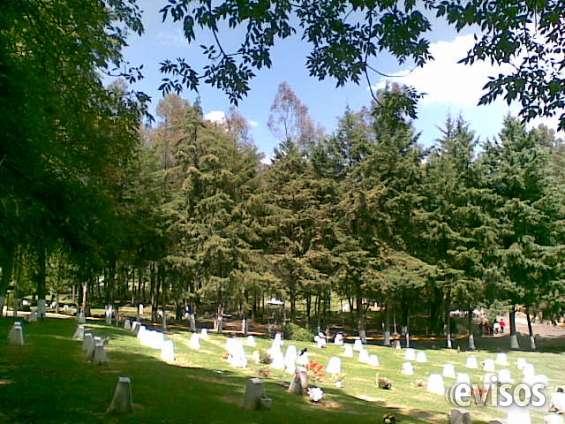 Cementerio parque memorial jardín esperanza secc la 6-4 fosa 4 gavetas con servicios