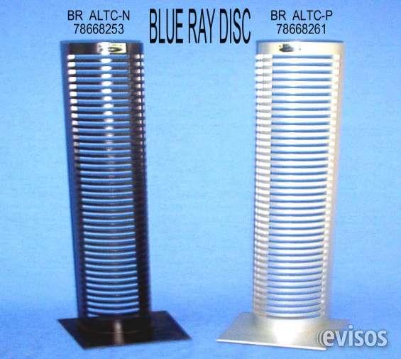 Exhibidores y torres para cd, dvd y blu ray disc discos lp:
