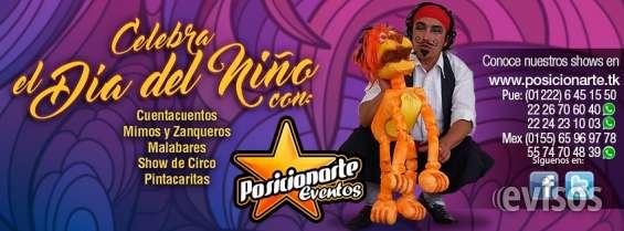 Shows para día del niño en ciudad de méxico: eventos y fiestas: 30 de abril