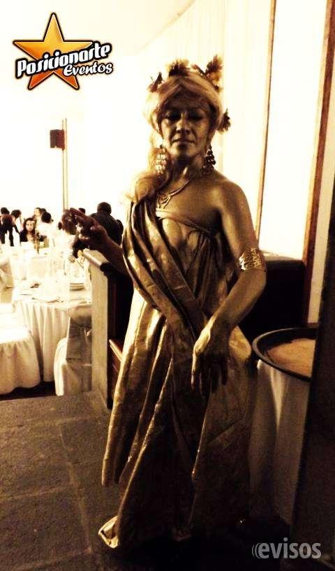 Estatuas vivientes en ciudad de méxico, show para eventos, fiestas, xv años, bodas