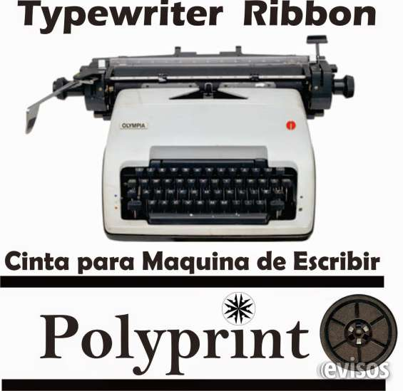 Cintas para maquinas de escribir mecanicas olympia sg-3 y olivetti y de reloj checador