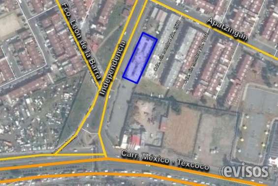 Terreno comercial col. héroes ecatepec
