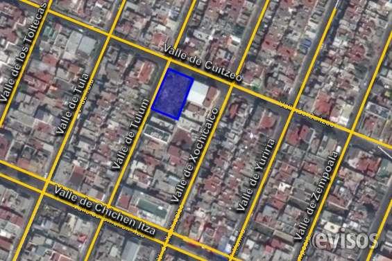Terreno comercial en venta fuentes de aragón, ecatepec