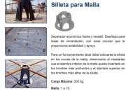 SILLETAS PARA CIMETACION, PISOS Y ENTREPISO