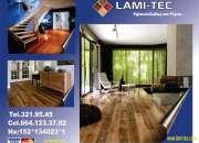 Pisos laminados baratos y duraderos en LAMI-TEC