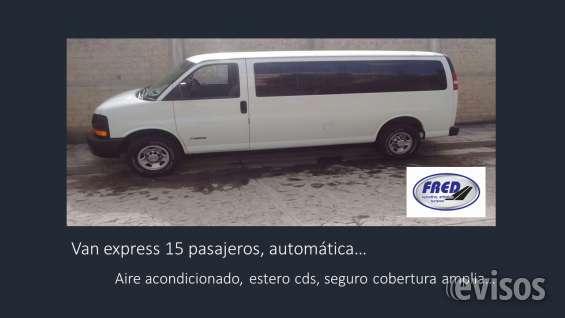 Fotos de Renta de camionetas pasajeros 5