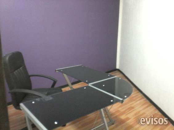 Contamos con oficinas amuebladas listas para trabajar