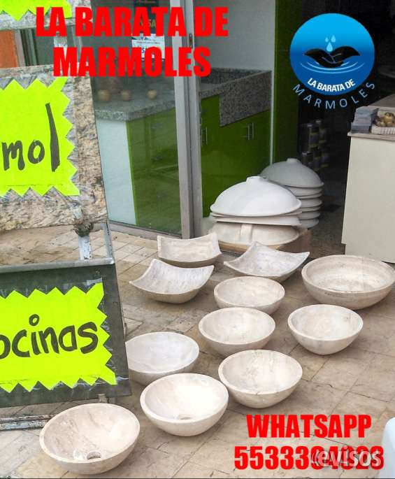 Hermosos lavabos en mármol a $ 599.00