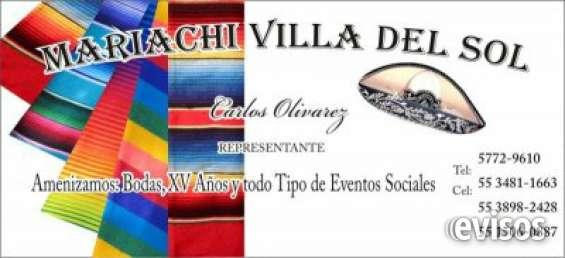 Mariachis en la colonia del valle 5534811663