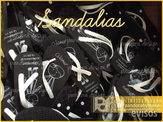 Sandalias personalizadas para boda