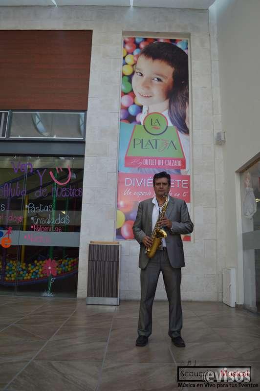 Saxofonista para bodas en guadalajara