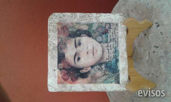 Portavasos en marmol travertino 10 x 10 cms souvenirs turisticos