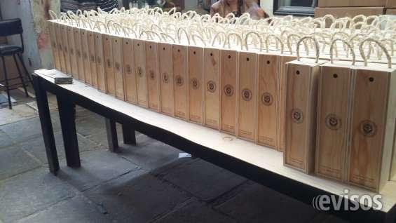 Estuches y cajas de madera promocionales y mas