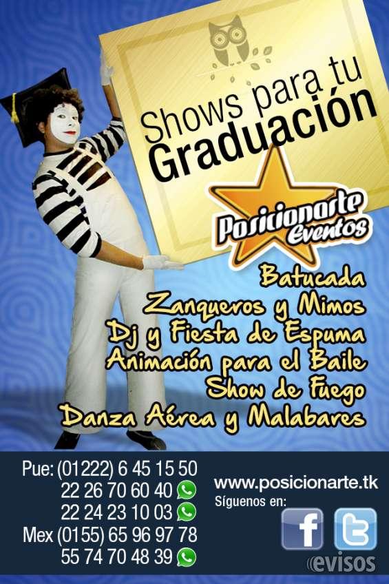 Shows para graduaciones y eventos