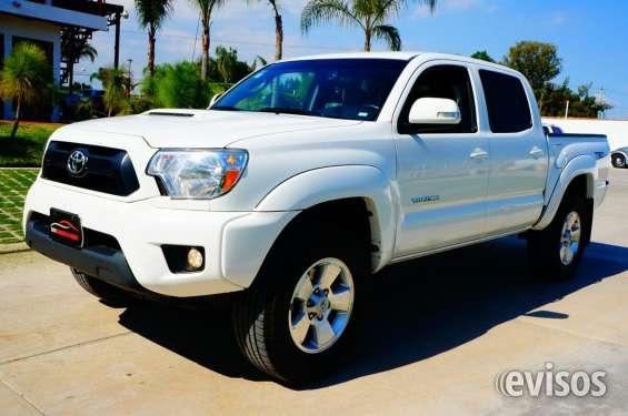 Toyota tacoma trd 4x4 año 2014